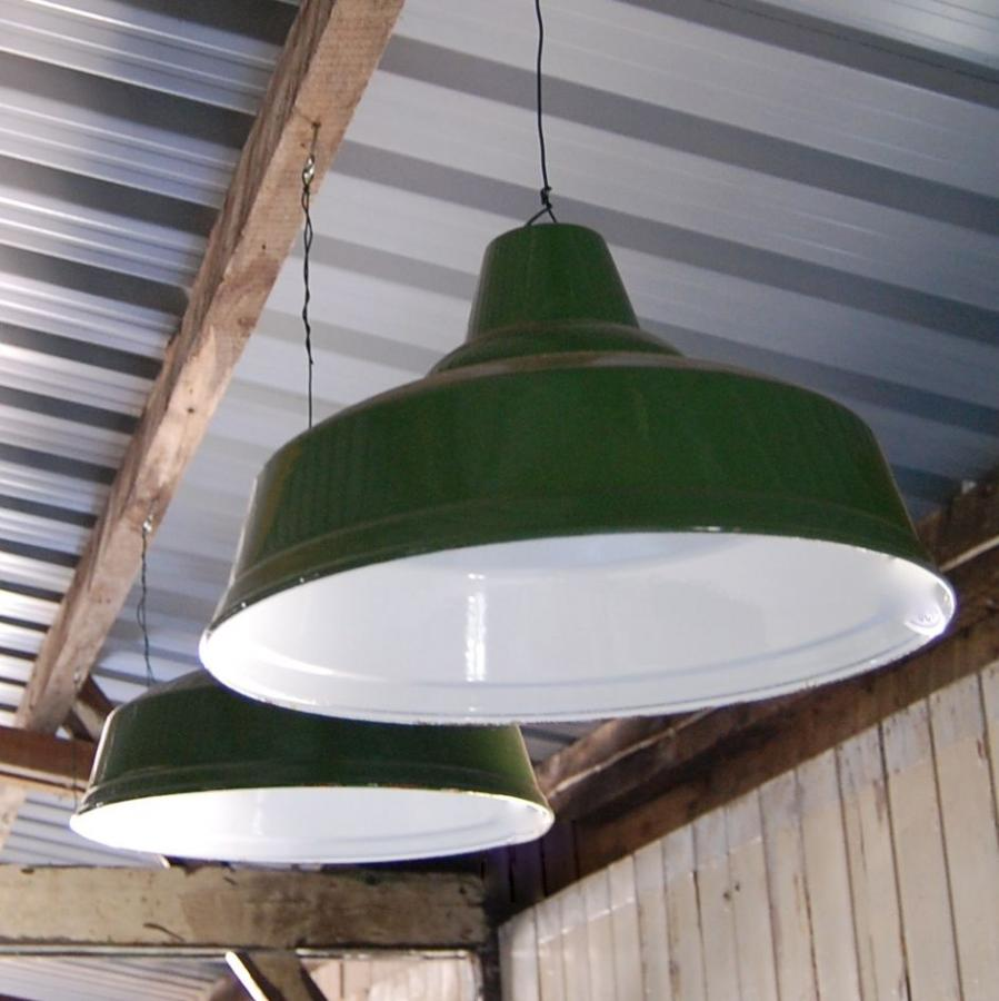 For sale vintage green enamel factory light shade salvo uk vintage green enamel factory light shade mozeypictures Gallery