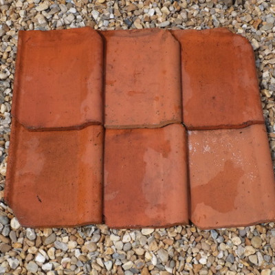 Clay terracotta pan tiles, 3000 approx