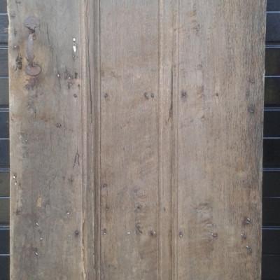 An early ledged oak door