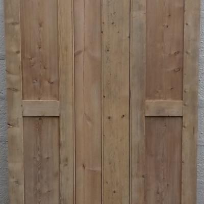 Antique window shutters