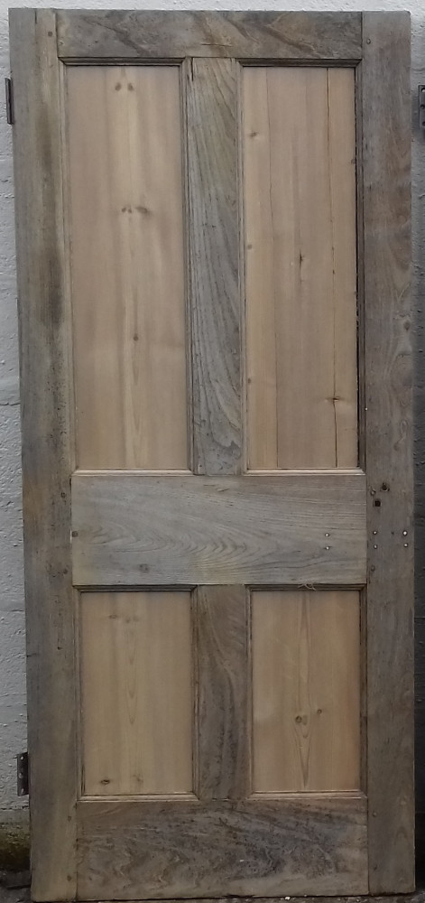 Chestnut & pine 4 panel doors