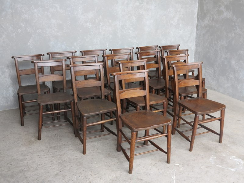 Solid and Sturdy Church Chairs