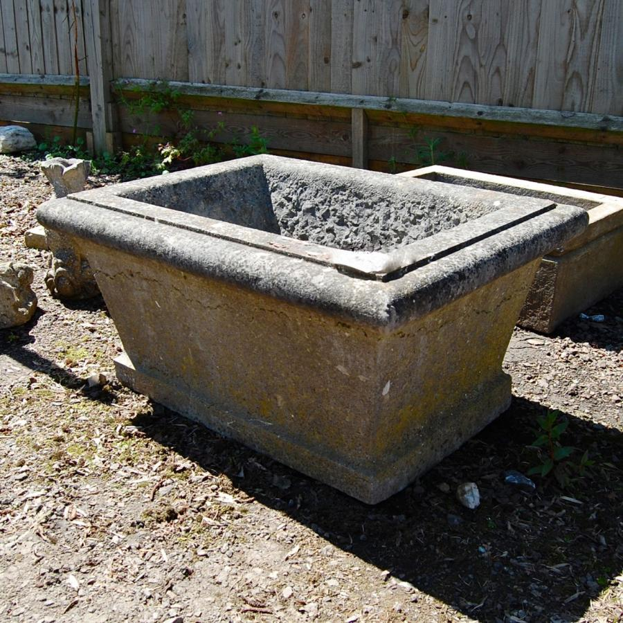 Reclaimed Early Stone Planter