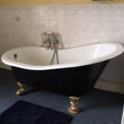 Antique Slipper Bath