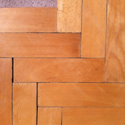 Reclaimed french beech parquet flooring - 100sqm available