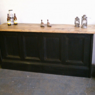 reclaimed bar/ shop counter point of sale