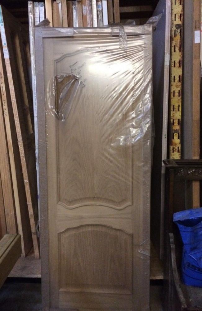 """Louis Oak Veneered Internal Door 30"""" x 78"""" x 1 3/8"""" 762mm x 1981mm x 35mmDoor041"""
