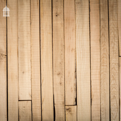 Band Sawn Reclaimed Seasoned Oak Floorboards Wall Cladding