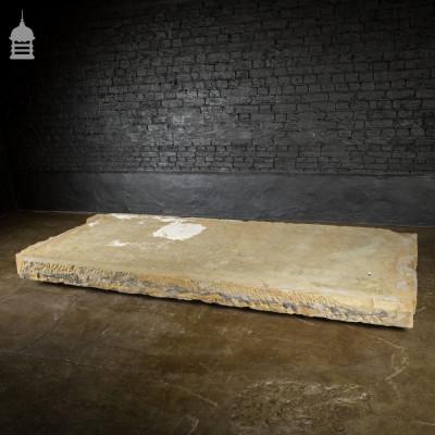 Enormous Reclaimed Yorkstone Slab Flag Stone – 2 Available