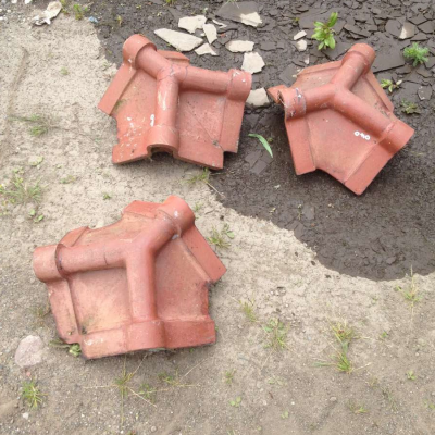 Ridge Tiles 3 Way Apex Hip To Ridge Tiles Victorian Clay Ridges 040
