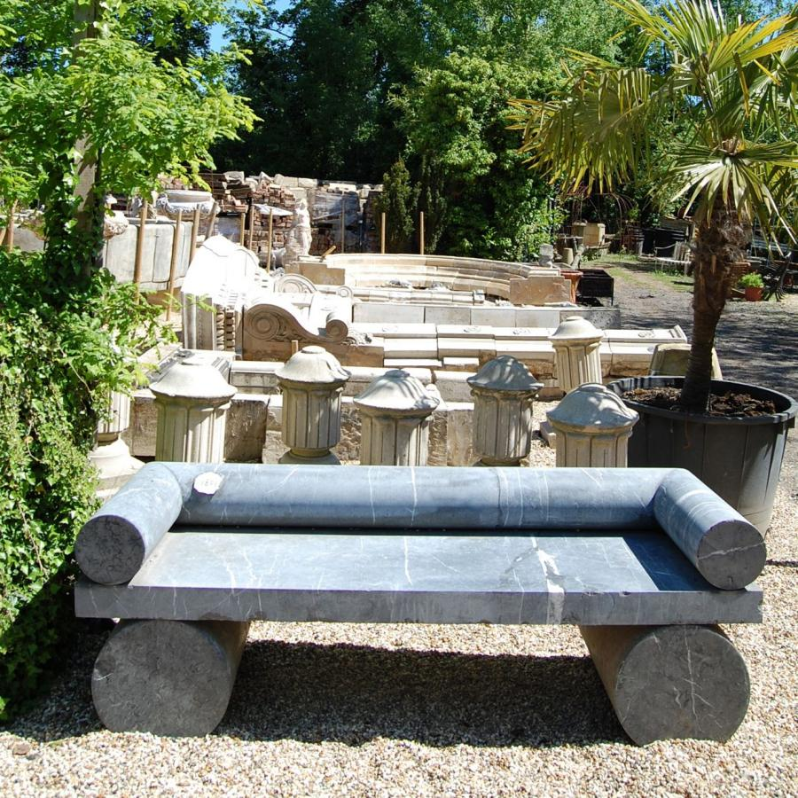 Marble Benches Reclaimed from the Barbican