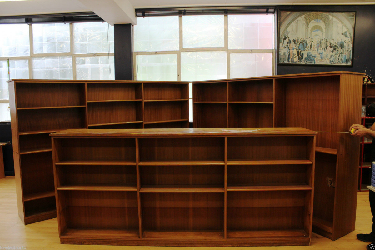 Swell For Sale Ex School Reclaimed Large Big Library Bookcases Download Free Architecture Designs Intelgarnamadebymaigaardcom
