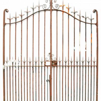 Pair Of 19th Century Wrought Iron Driveway Gates