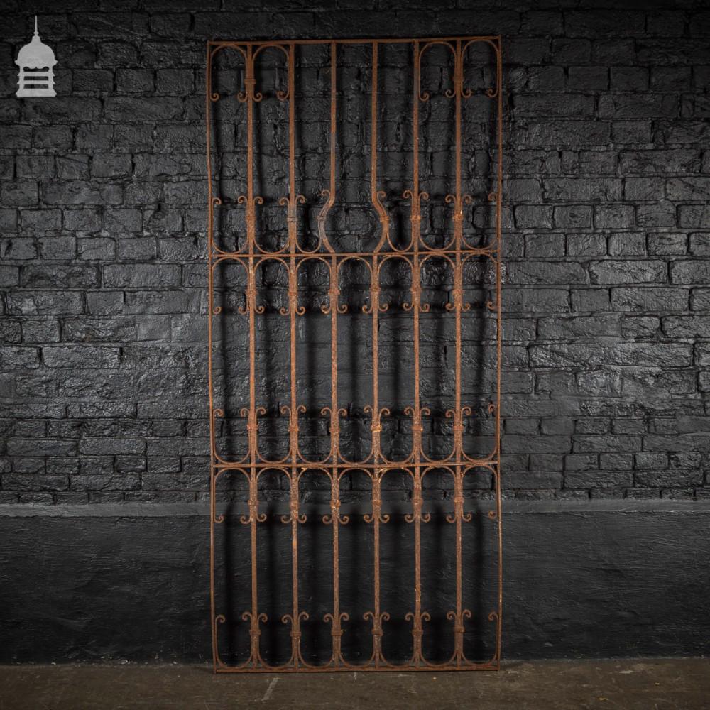 For Sale Decorative Georgian Wrought Iron Railing Panel Salvoweb Uk