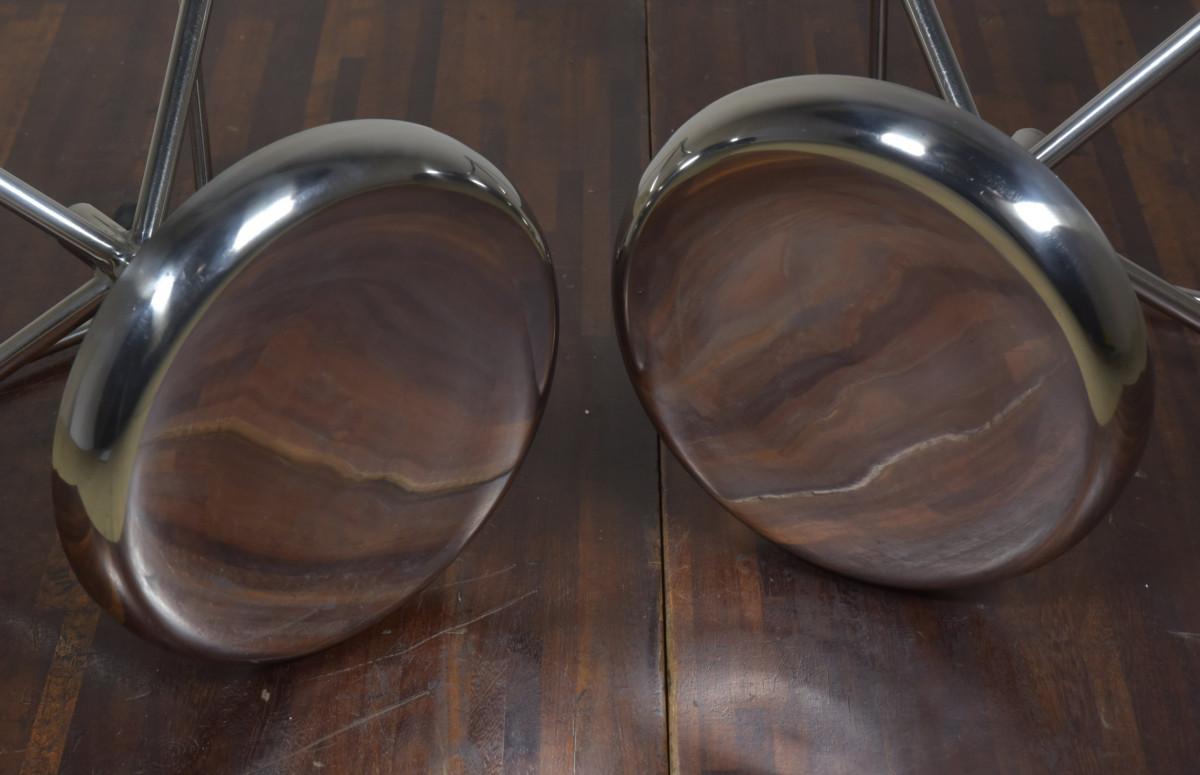 Pair Vintage Surgeons Stools