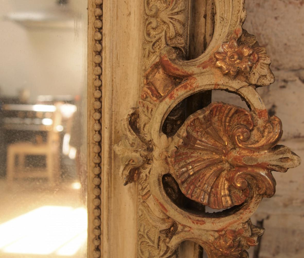 Antique French Mirror Circa 1880.