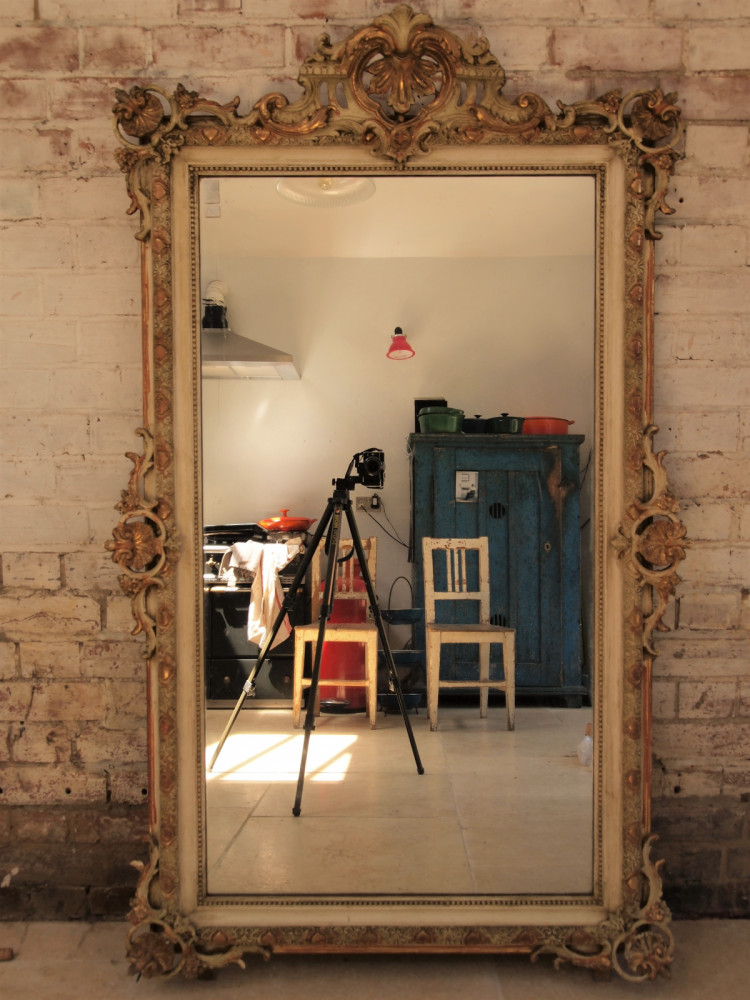 Antique French Mirror Circa 1880.