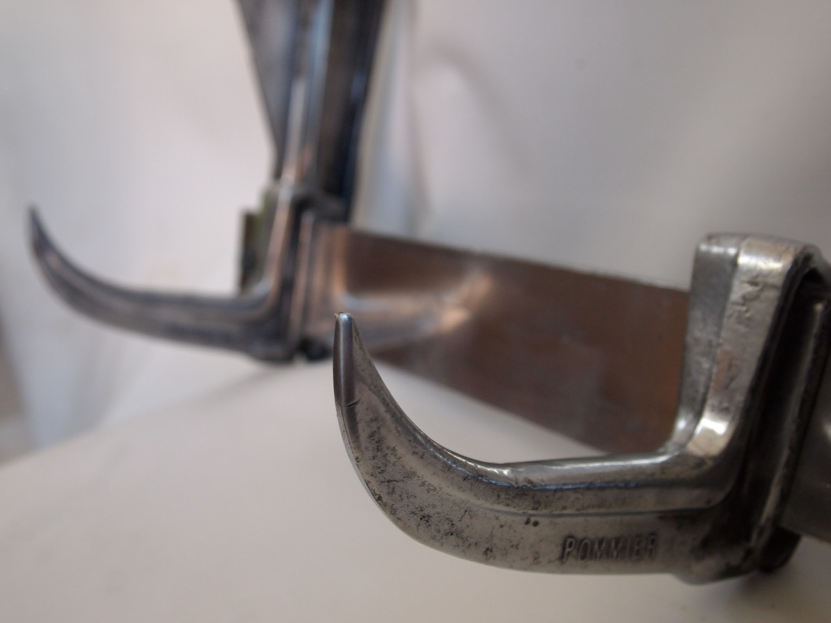 Vintage butcher's hooks