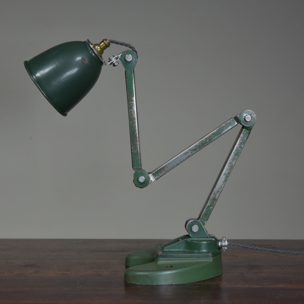 Antique Industrial Work Desk Lamp