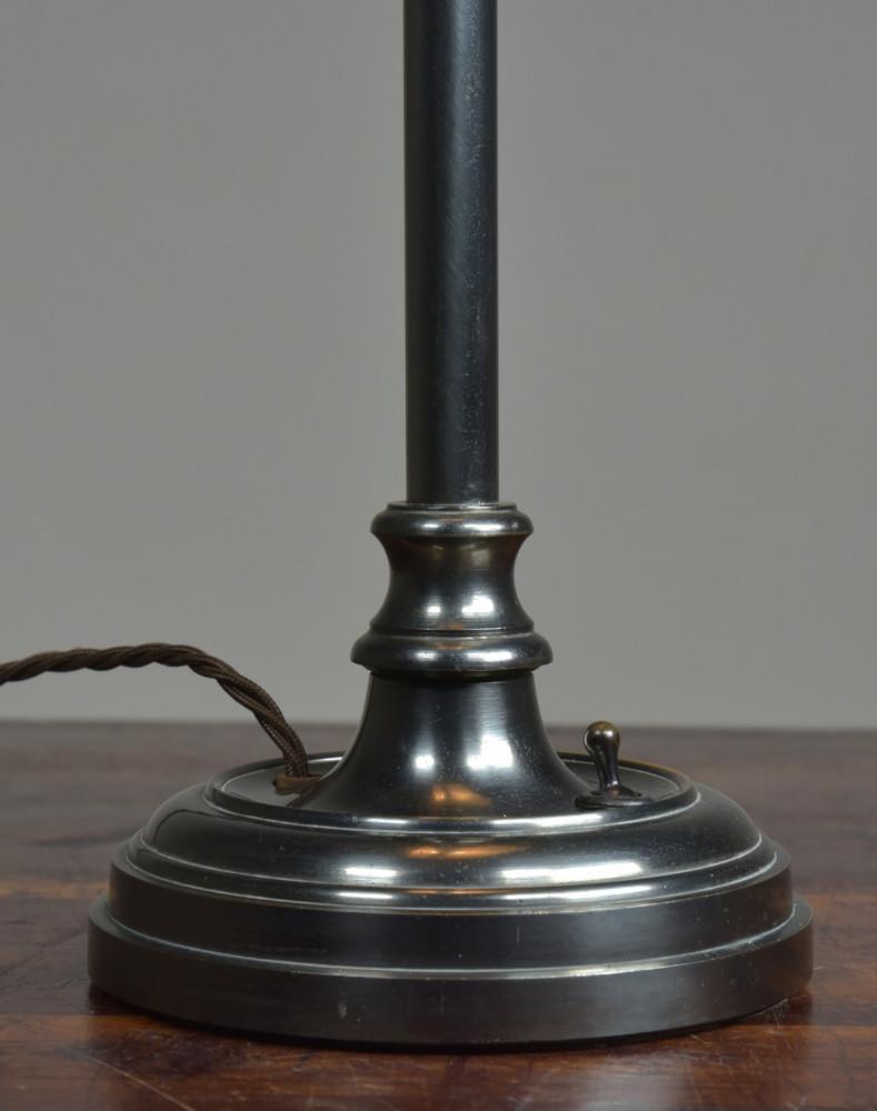 Antique Bronze Bankers Desk Lamp