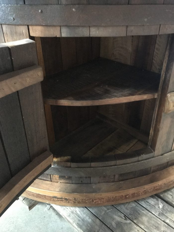 Custom Bar, Sugar Mill Wheel