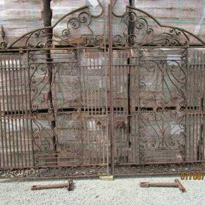Wrought Iron Gates.