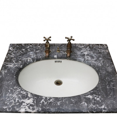 Antique Marble Basin / Sink