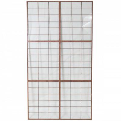 Glass Copper light Panels 78.5cm X 148cm