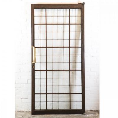 Reclaimed Large Copper Light Door