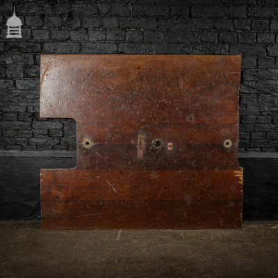 Large Section of Reclaimed Iroko Science Lab Counter Top