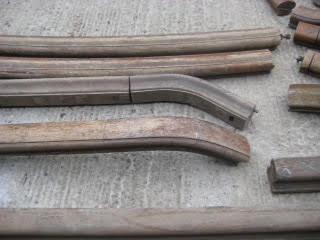 hardwood handrails