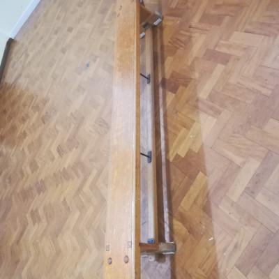 Vintage Retro 8 ft School Gymnastics Bench - REDUCED