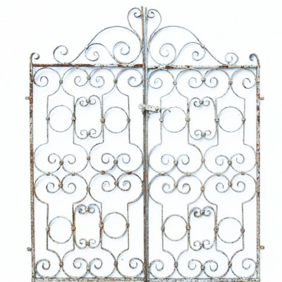 Pair Of Small Wrought Iron Gates
