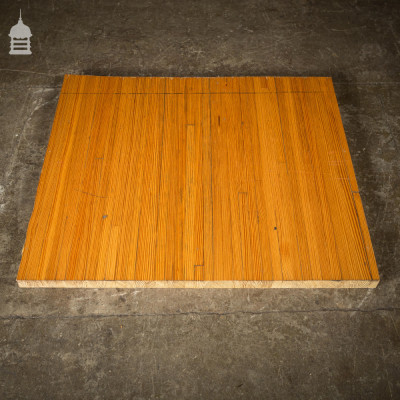 Reclaimed Pitch Pine Bowling Alley Section