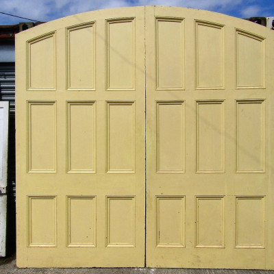 Arched Double Doors, Very Large.