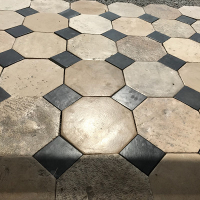 Antique Cabochons flooring