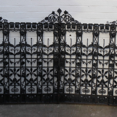 Original Cast Iron Gates from Wirral Childrens' Hospital