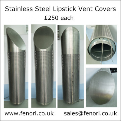 Stainless Steel Lipstick Vent Covers