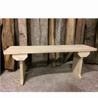 New Handmade Solid Ash Bench Seat