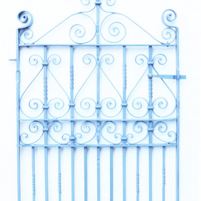 Wrought Iron Victorian Pedestrian Gate