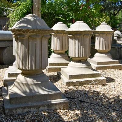 Reclaimed Antique Stone Finials