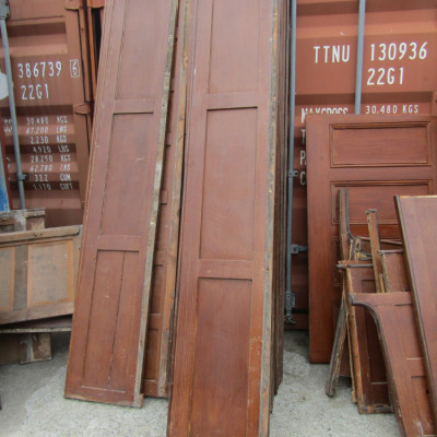 Painted Victorian Pine Panelling