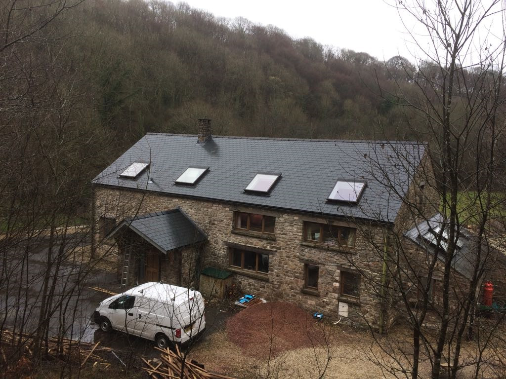 Actual Slates used on this project