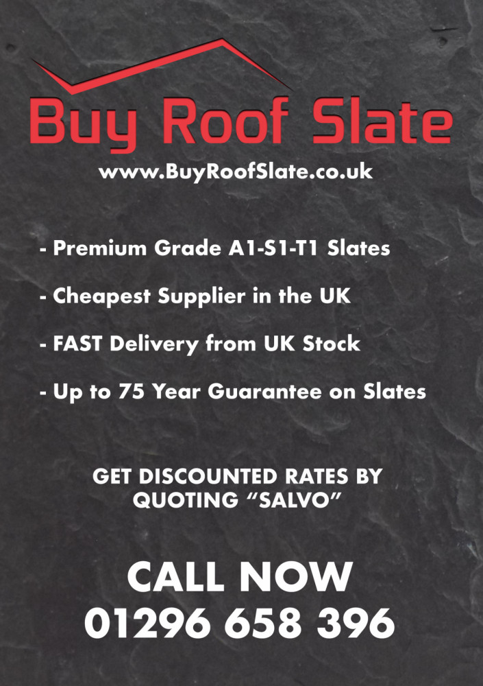 New: You have just found the cheapest suppliers of natural roofing slates in the UK