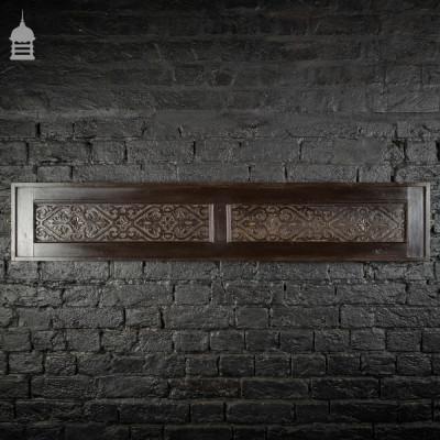 18th C Decorative Carved Pine Panel