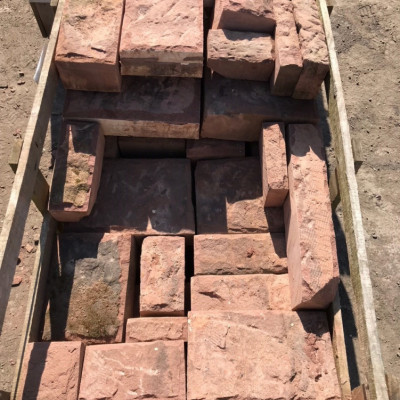 Punch Face Sandstone Walling