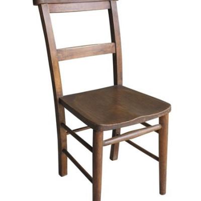 Antique Reclaimed Dark Church/ Chapel Chairs