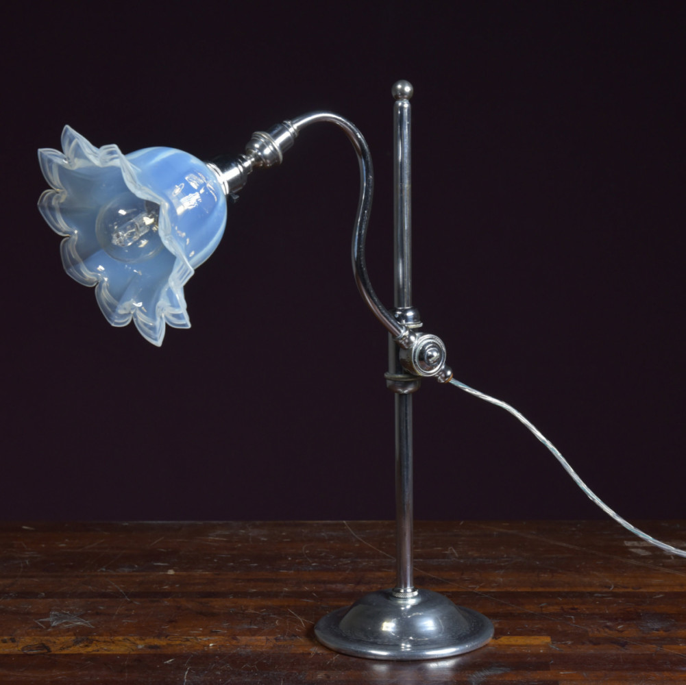 1920s Adjustable Desk Table Lamp