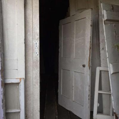 Batch of reclaimed doors