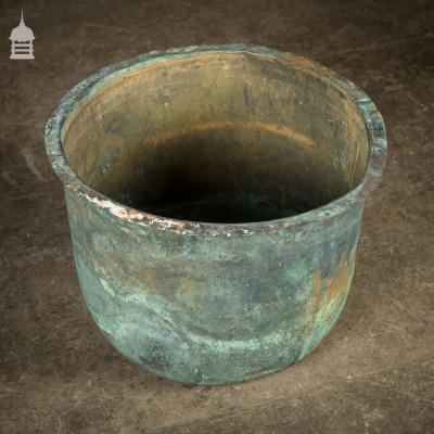 20 inch 19th C Copper Copper with Verdigris